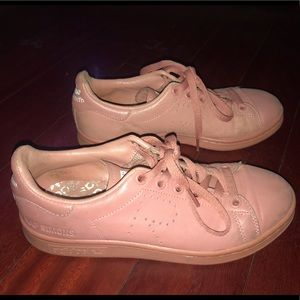 RAF simons Stan Smith Pink Sneakers